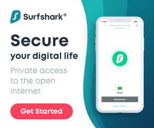 watch streaming IPTV channels only with Surfshark VPN protection